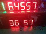 蓝应翔12寸单色8.888油价格户外显示屏  LED户外防水油价显示屏