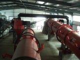 氯化铵挤压造粒机器、复合肥成套设备