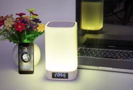 LED便携防水唤醒音响灯 助眠七彩蓝牙音响代发