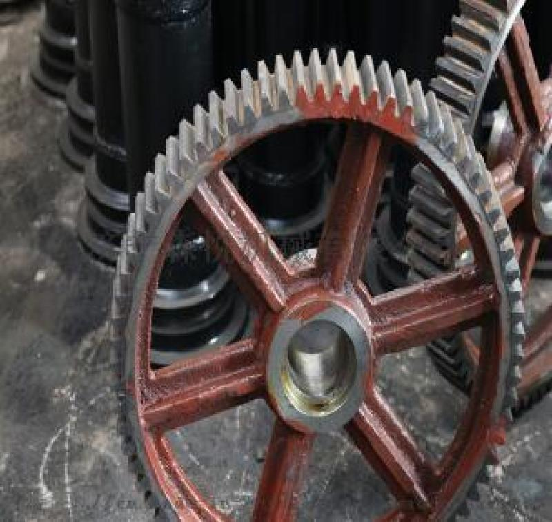 新疆厂家800皮带机齿轮