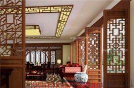 室内家居装饰仿古铝窗花 屏风仿古铝窗花
