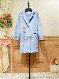 广州名牌服装艾格折扣艾格库存女装尾货女装