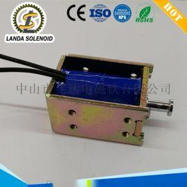 厂家直销广东电磁铁框架式SQ0837自动门锁电磁铁