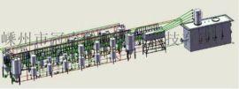 热固性碳纤维再生应用生产线