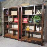萬豪船木家具實木架子博古架置物架多寶格展示架
