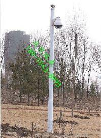 小区监控立杆不锈钢杆子摄像机 机立柱/支架
