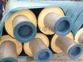 钢套钢蒸汽复合玻璃棉保温管厂家--成本估算