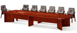 油漆木皮会议台6005单层款 绿色环保健康家具