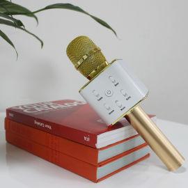 Q7无线 蓝牙USBK歌 FM KTV话筒音箱