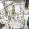 酒店/會客廳 高端金屬茶几 不鏽鋼藝術茶几定製