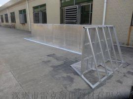 厂家直销铝合金防爆栏 演唱会隔离舞台护栏