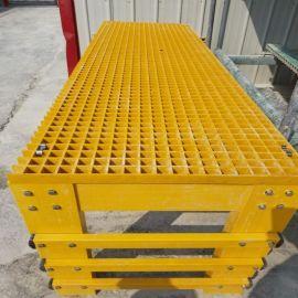 纤维养殖格栅 玻璃钢格栅 单向格栅槽切割方法