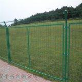 綠色鐵絲護欄網,道路護欄供應,果園鐵絲護欄網