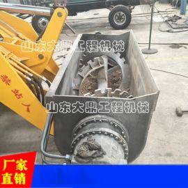 装载机式混凝土搅拌机 四轮四驱混凝土搅拌运输车