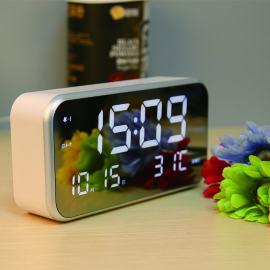 多功能大屏幕LED电子闹钟儿童学生静音时钟