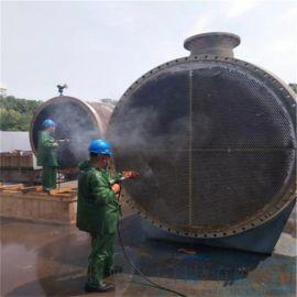 用高压水射进行管道清洗的适用范围和使用方法