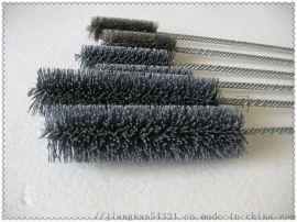 金刚石内孔去毛刺抛光刷 压缩机活塞孔去毛刺研磨刷