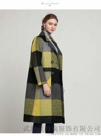 品牌服装都是几折拿货国雅世家日系双面羊绒大衣毛呢