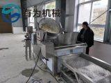 红薯片油炸机 有为牌红薯片油炸锅机器现场实拍图