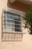 鋅鋼空調護欄、九正鋅鋼防盜窗廠家