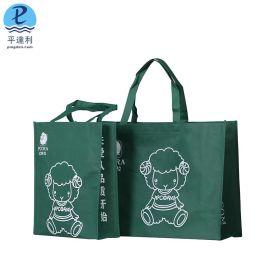 无纺布袋定做印字 广告袋 手提袋订做 车缝环保袋购物袋定制印刷logo