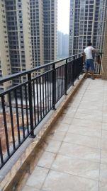 屋顶护栏屋顶阳台栏杆屋顶铁艺栏杆