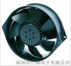 铁叶耐高温散热风扇17055交流散热风扇