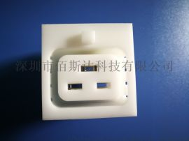 C19防脱插座.PDU专用模块.C19直卡式插座