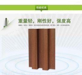 厂家定制木纹凹凸波浪铝长城批量订做铝长城板规格