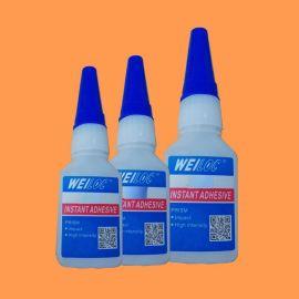 深圳金屬瞬幹膠水 通用型TPU粘玻璃膠水 耐高溫低白化瞬幹膠廠家