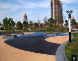 透水地坪怎么施工上海桓石彩色 透水地坪透水混凝土