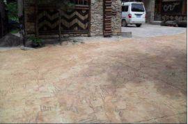 彩色压模路面的特性,彩色混凝土压模,压花混凝土,压模混凝土 地坪