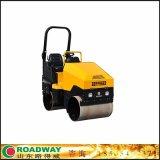 ROADWAY壓路機小型駕駛式手扶式壓路機廠家供應液壓光輪振動壓路機RWYL52C終身保修青島市