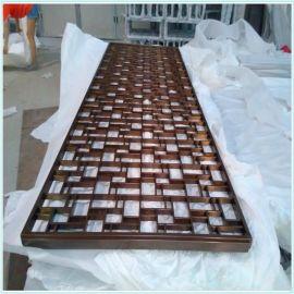 中国风不鏽鋼屏風古典图案屏风书房常用屏风