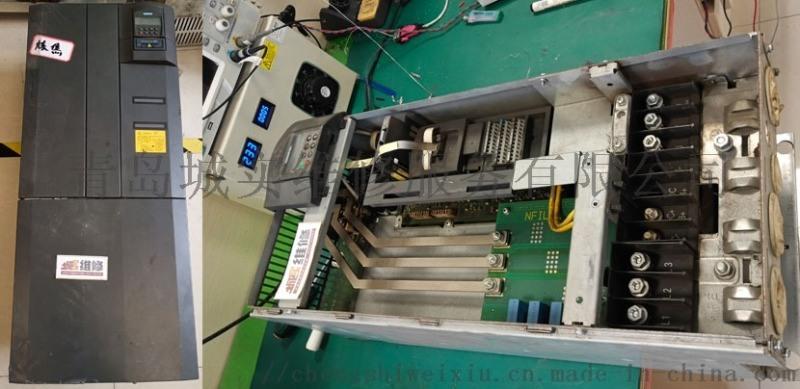 城实维修提供西门子变频器维修完成后上电前检测方法