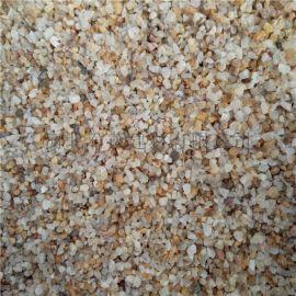 过滤铸造用石英砂 石英砂厂家 黄色石英砂