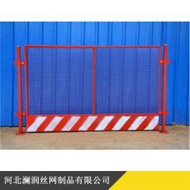 基坑临边护栏 工地防护网 楼层临时护栏施工安全门