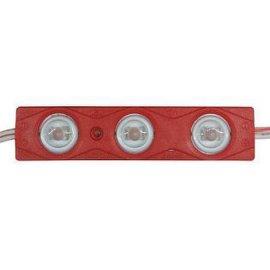红色3灯2835led注塑模组