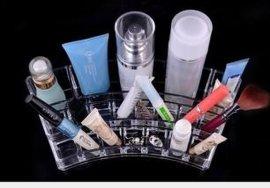 1066水晶化妆品盒 浴室收纳盒 家居/塑料收纳盒 厂家爆款促销