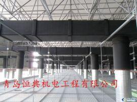 青岛承接通风管道橡塑保温工程青岛承接通风排烟管道岩棉硅酸铝保温工程