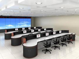 广州市道路运输监控中心控制台 轨道交通控制中心调度台生产厂家