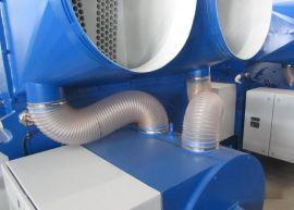 耐高温+90耐低温-40℃钢丝风管