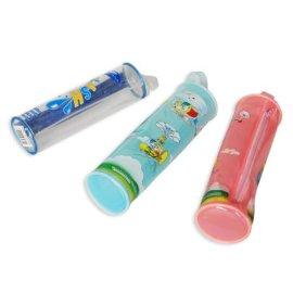 可爱卡通儿童环保PVC文具袋 伞套