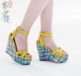 民族风时尚真皮女鞋-2