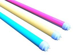彩色LED灯管/生鲜超市肉类照明灯管/黄光专用LED灯管/旭光黄光灯管