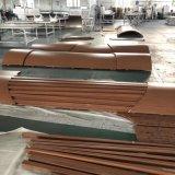 熱轉印木紋鋁單板包柱 立體包柱鋁單板衝孔