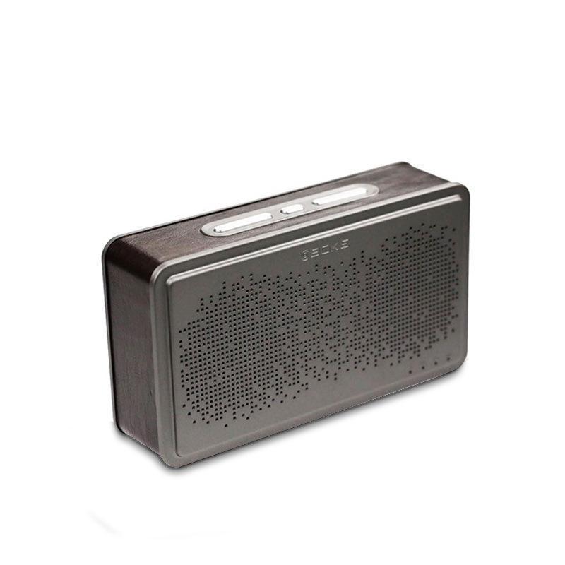 复古音响BS221真皮商务家居 古典蓝牙音箱