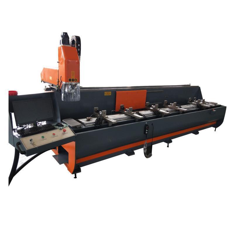 厂家直销汽车铝型材配件数控加工设备