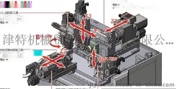 西铁城数控车床,L20带B轴功能数控车床