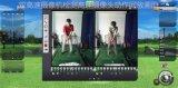 双高速摄像头模拟高尔夫